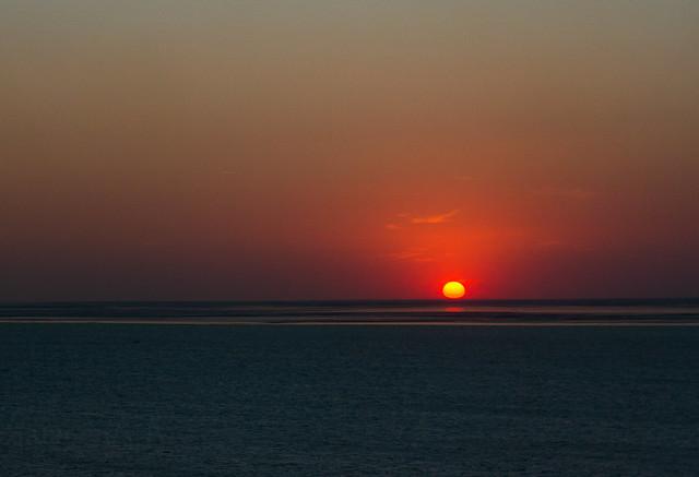 Puesta de sol en, Canon EOS 550D, Canon EF 50mm f/1.8 II