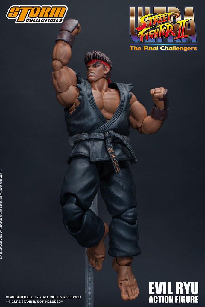 殺意波動覺醒!! Storm Collectibles《終極快打旋風 2 最後挑戰者》殺意隆 Evil Ryu 1/12 比例人偶作品