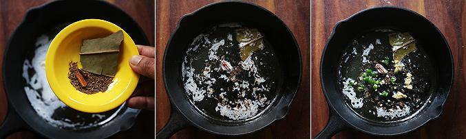 How to make paneer bhurji gravy recipe - Step2