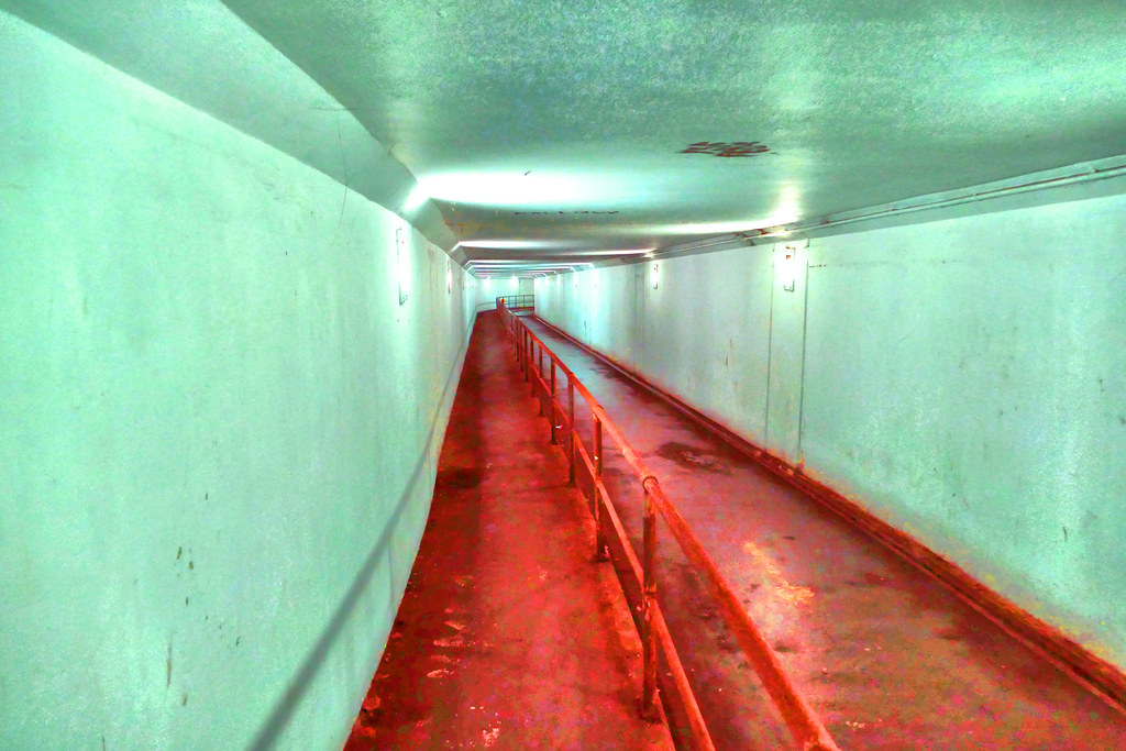 what clyde pedestrian tunnel's really isn't like