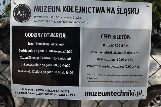 Eisenbahnmuseum Jaworzyna Slaska