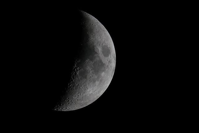 Lune, Nikon D500, AF-S VR Nikkor 400mm f/2.8G ED