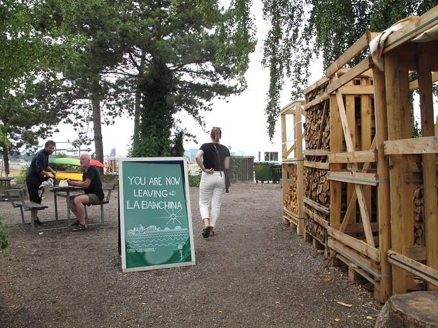 wednesday, daytrip to refshalöen, lunch at la banchina, copenhagen
