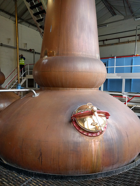 Tomintoul distillery tour