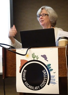 Sheila Morrissey at Markup Vocabulary Ecosystems