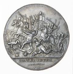 Peterloo medal obverse conplete