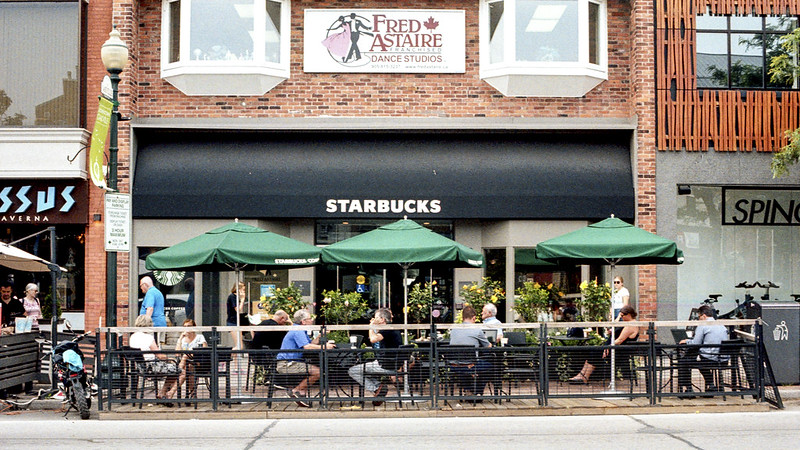 The Starbucks Patio_