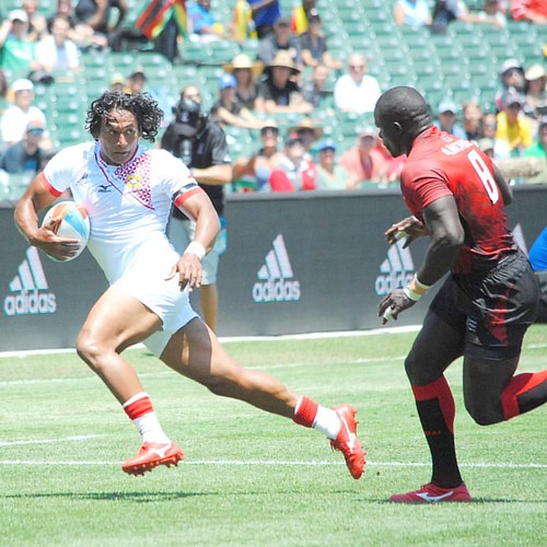 #fbf Tonga v Kenya Friday preliminary round #rugby #rwc7s #attpark small amount