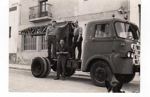 Camió de Talleres Marcet de Rubí sense la Grua