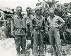 Clifton Cates, Tinian, 1944