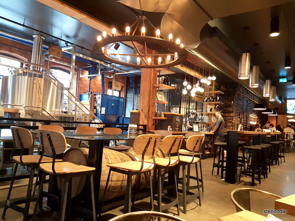 Goose Island Brewhouse Toronto interior