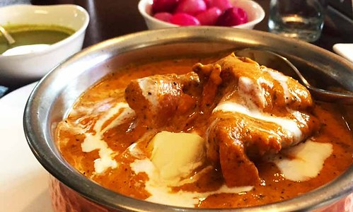 Butter Chicken at Moti Mahal