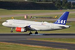 SAS Airbus A319-132 OY-KBP BHX 22/06/18