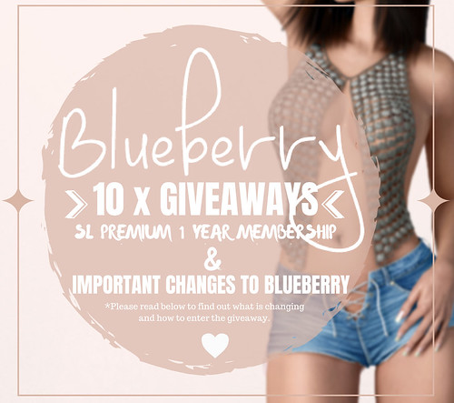 Blueberry - 10 x Premium Membership Give Aways and Changes
