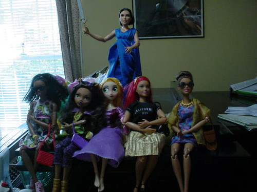 all the barbies