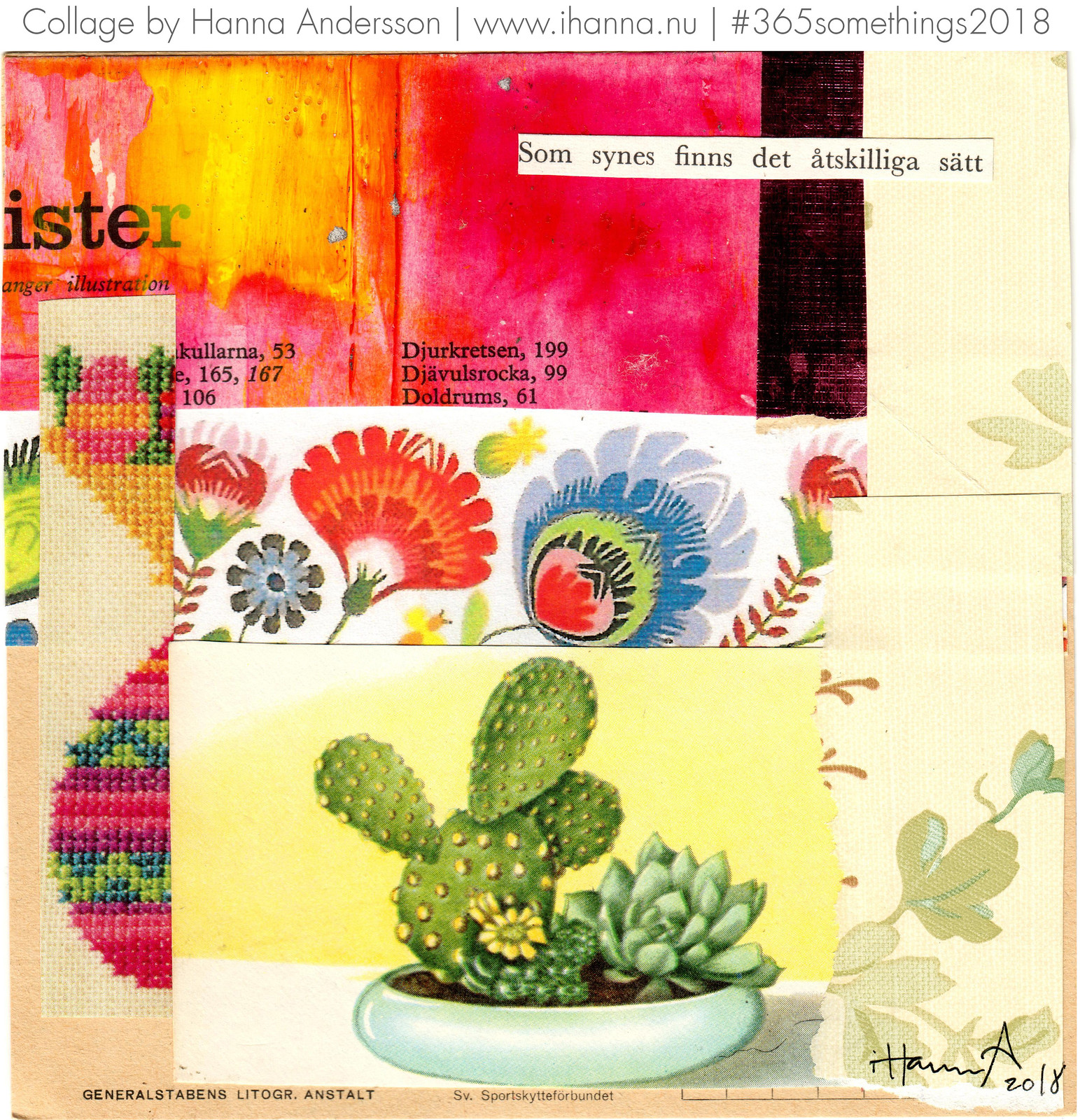 Summer Itch - Collage no 217 by iHanna