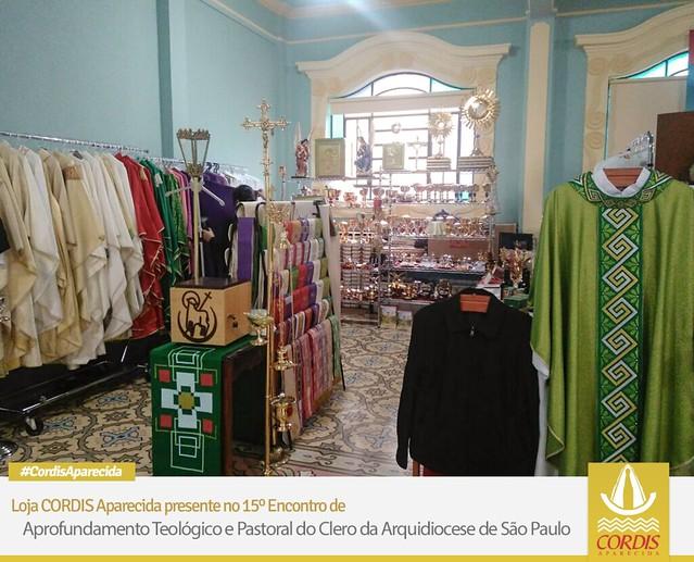 CORDIS Aparecida presente no curso teológico da Arquidiocese de SP