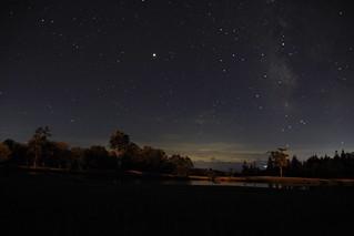 夜空(天の川)