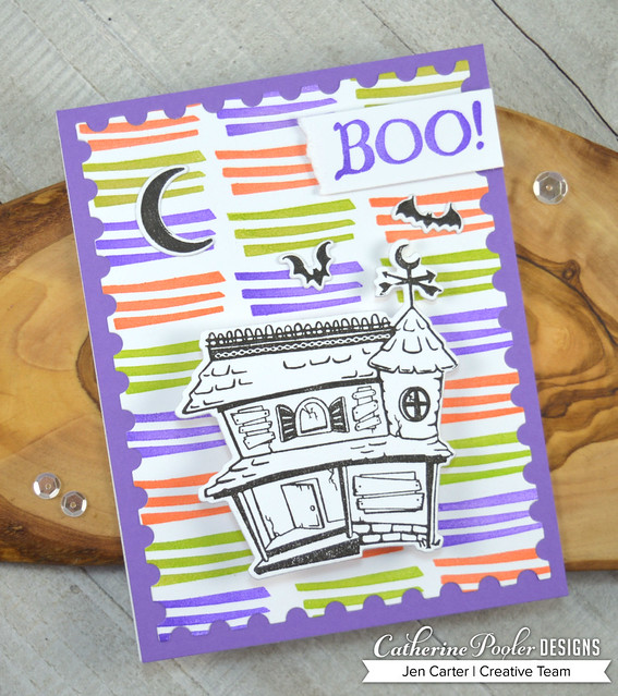 Jen Carter CP Spooky Hollow Everything but Broom Boo House
