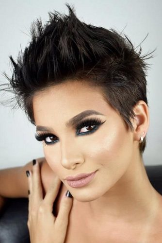 Latest Taper Haircut Styles For Women -Men's Haircut For Women |Now 8