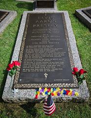 Grave of Elvis Presley - Memphis - USA