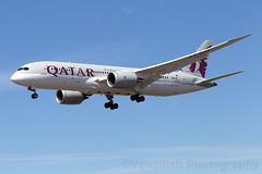 A7-BCI QATAR Airways B787-8 Dreamliner Helsinki Vantaa