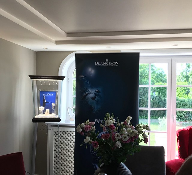 A very special event with Blancpain and Gianluca Genoni