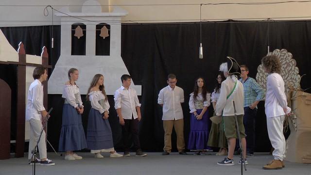 Gran obra de teatro de los alumnos y alumnas del IES Cañada Rosal