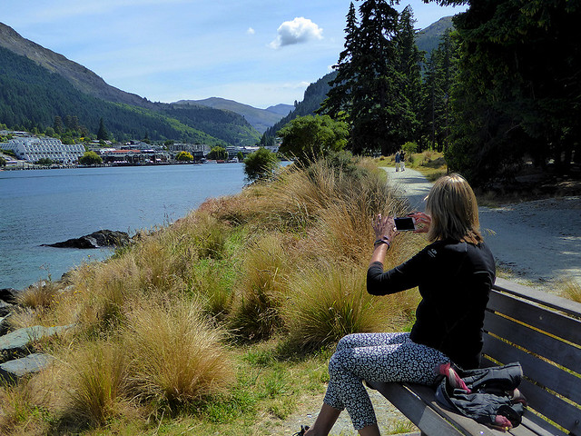 Lake Wakatipu and Queenstown is perhaps one of the most photographed scenery in new Zealand