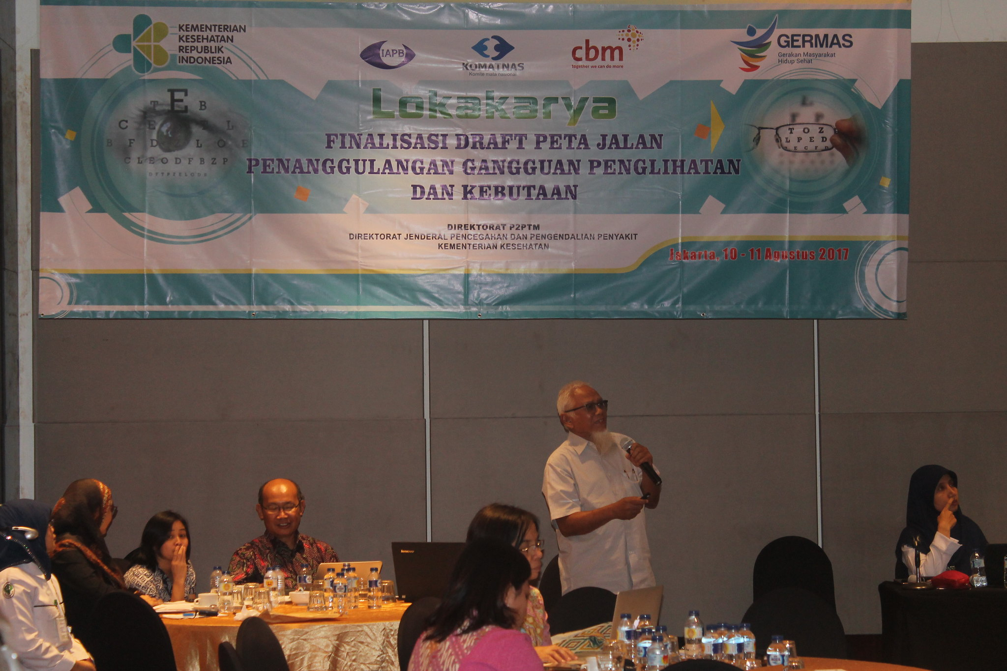 Roadmap of Visual Impairment Control Program in Indonesia 2017-2030 Planning Workshop