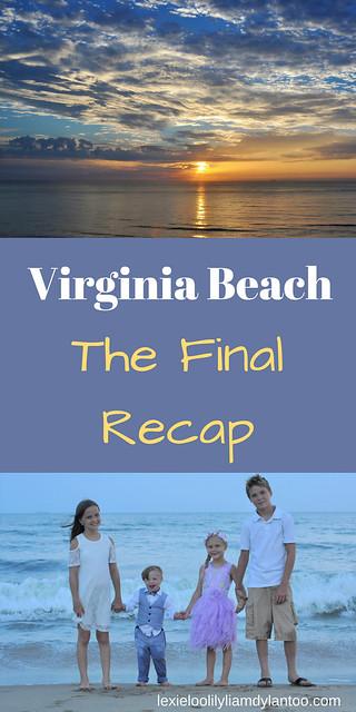 Virginia Beach Recap - Birthday Traditions, Sunrises, Rainbows, and Beach Portraits #VirginiaBeach #Downsyndrome #TravelwithKids #Travel