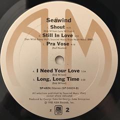 SEAWIND:SEAWIND(LABEL SIDE-B)