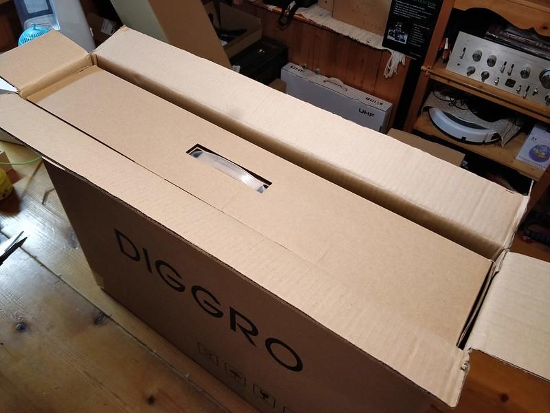 Diggro D300 ロボット掃除機 開封レビュー (2)