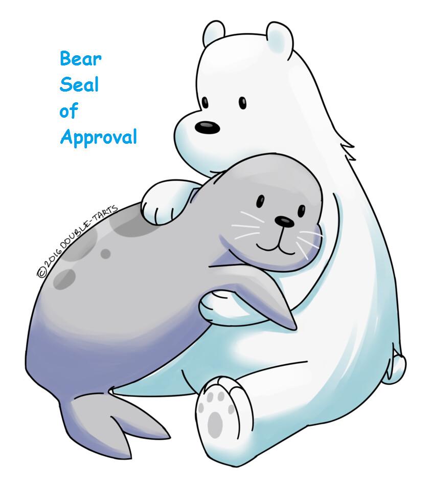 we_bare_bears__ice_bear_and_seal_by_double_tarts-da8yair