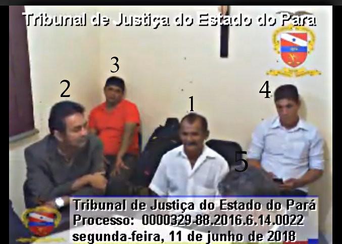 Laqueadura: vídeo publicado por tabloide sensacionalista de Santarém é uma farsa, Quem é quem no vídeo. Óbidos