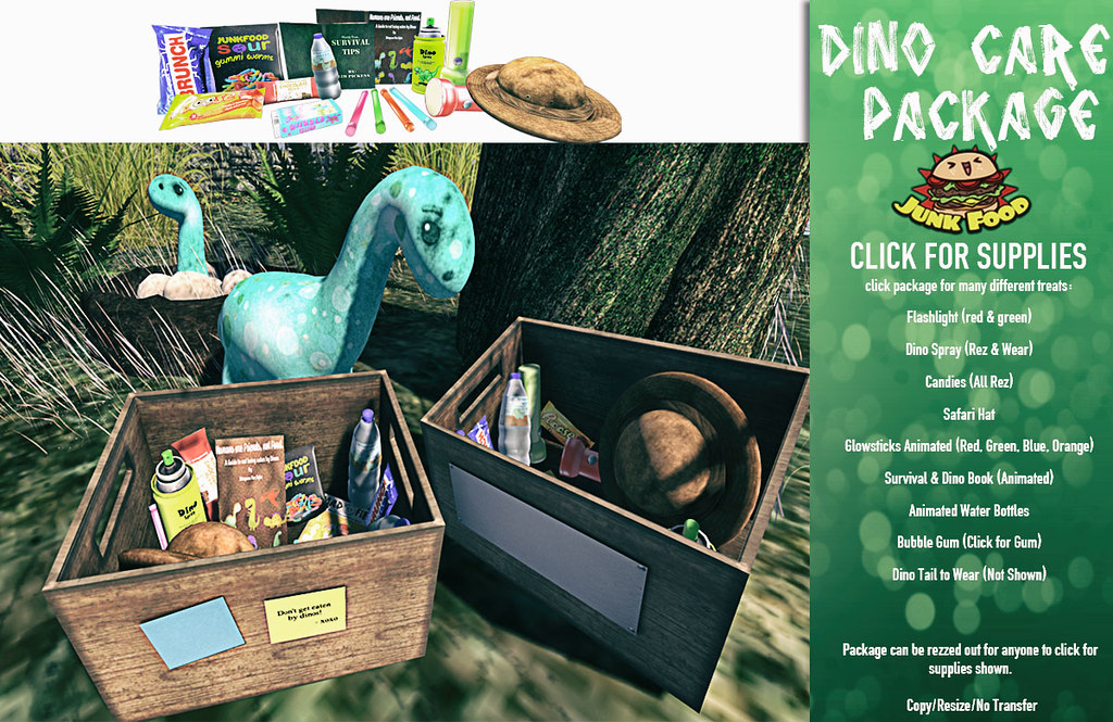 Junk Food – Dino Care Package
