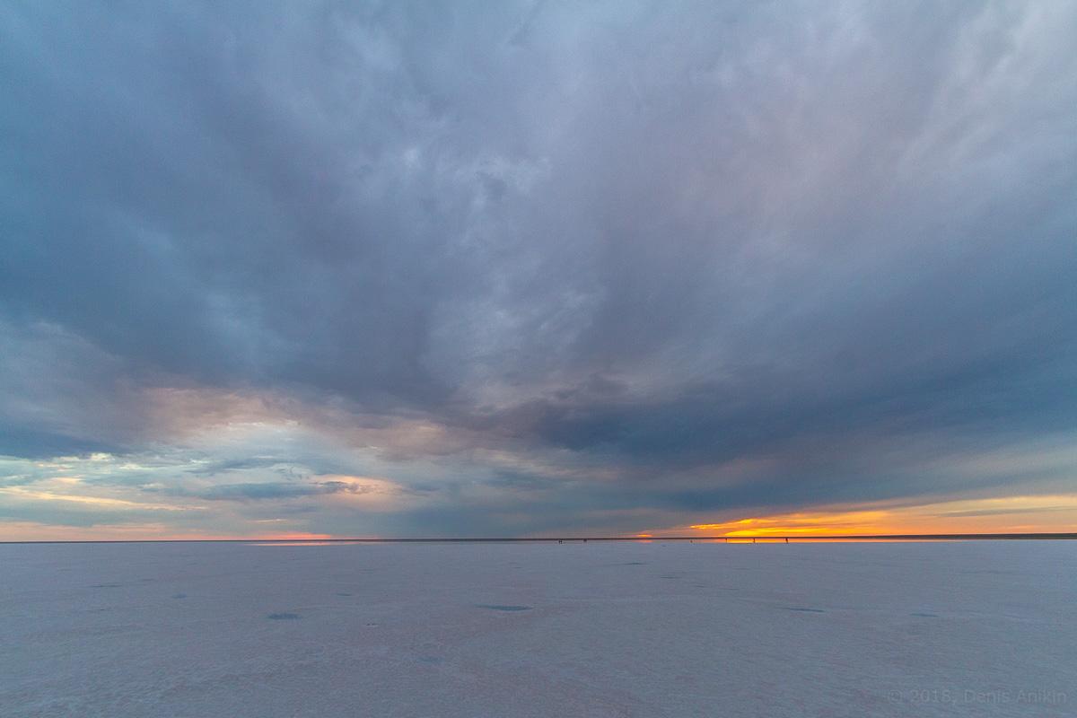 Закат на Эльтоне фото 10