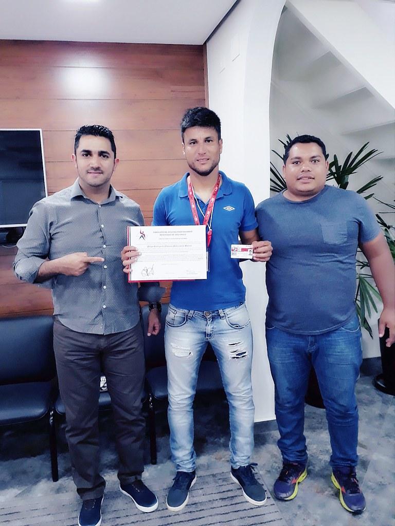 Entrega do Certificado de Monitor de Futebol