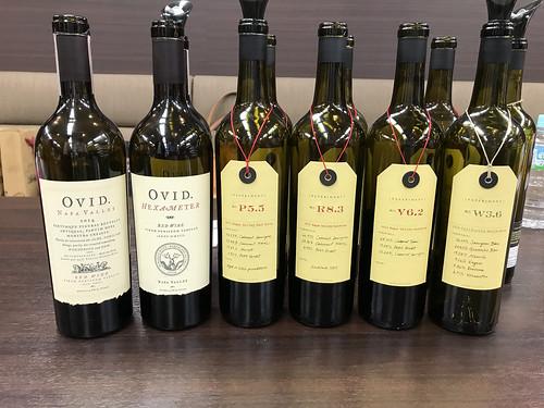 Ovidのワイン一覧