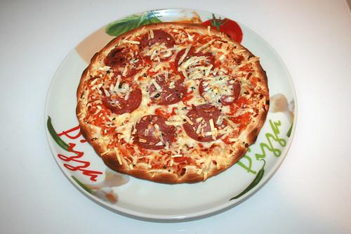Wagner Die Backfrische Pizza Salami