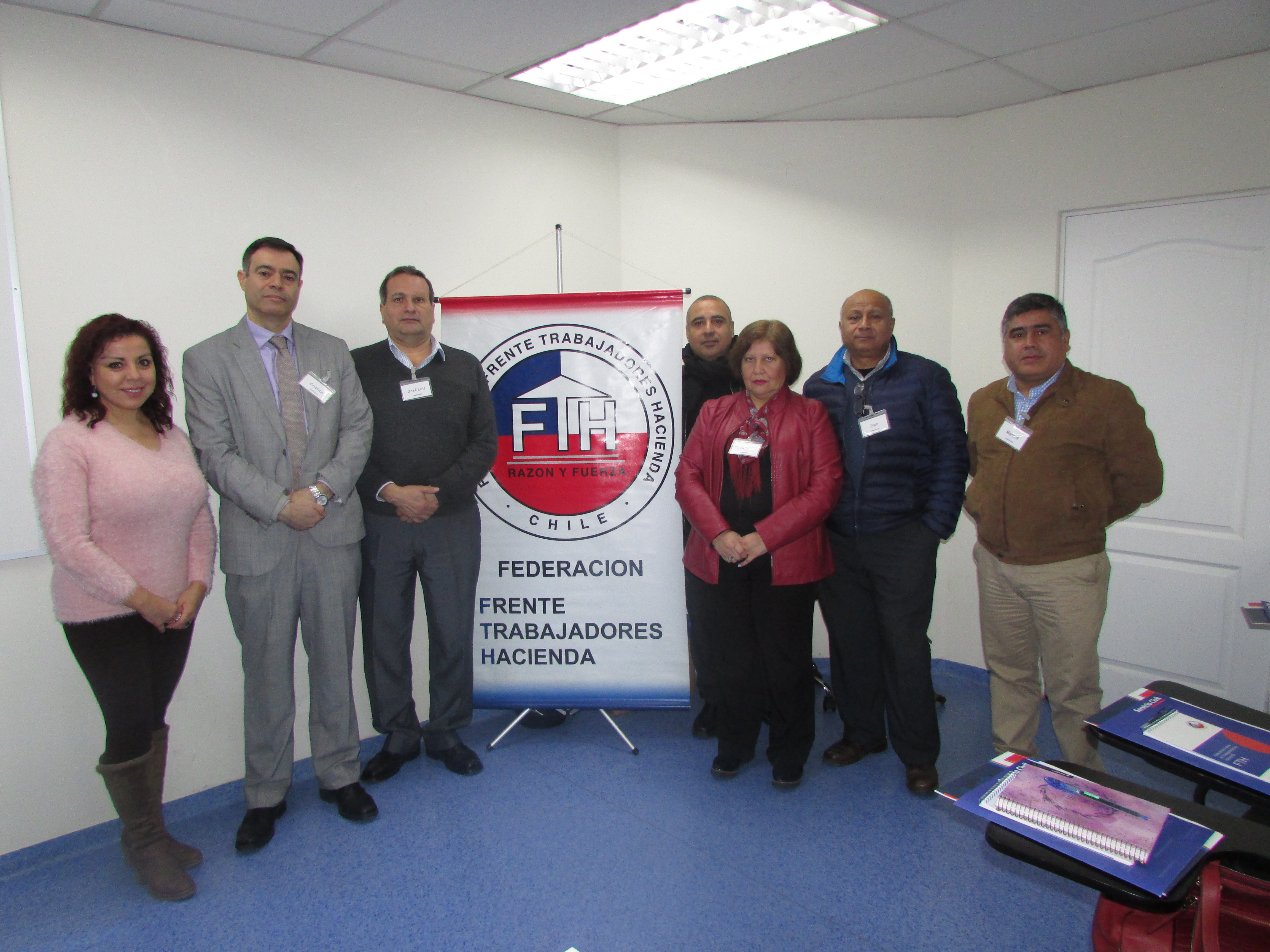 AET participa en segunda versión de la Escuela Sindical FTH – 22 Junio 2018