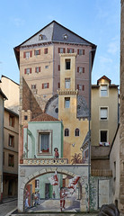 Trompe l'oeil house - Photo of Mende