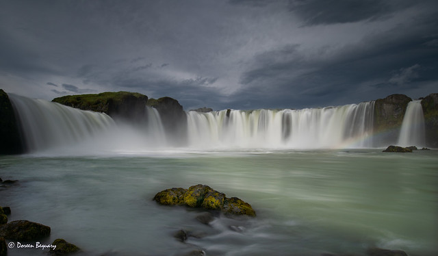 Goðafoss Waterfall of the Gods