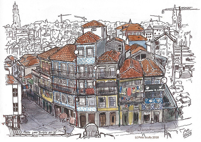 Porto view from Se
