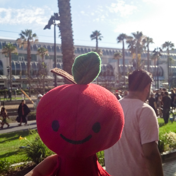 Apple Head's trip at: San Diego