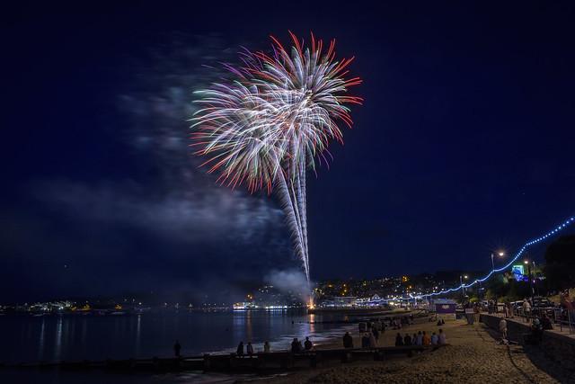 Swanage Carnival Fireworks 01-08-2018 19