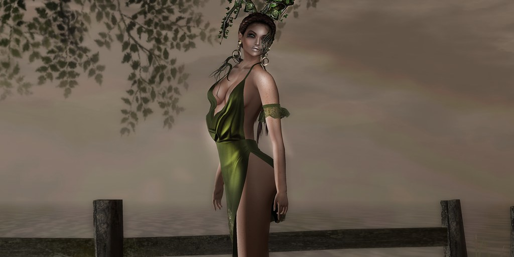 A goddess of the forest ...