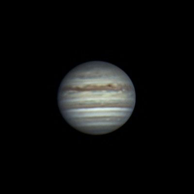 木星 (2018/6/25 21:48) (直焦点)