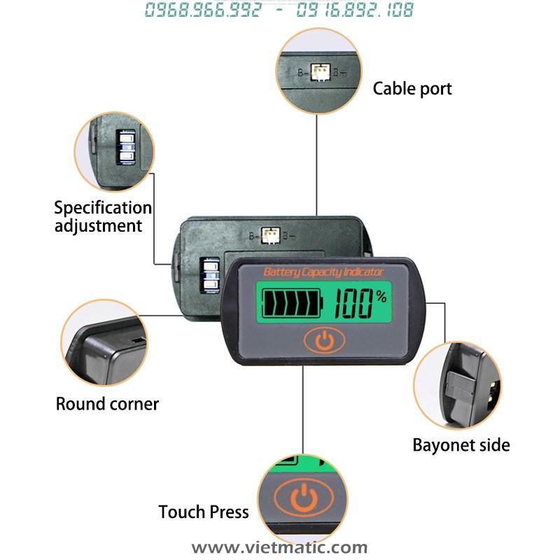 Tổng quan về đồng hồ báo mức dung lượng bình