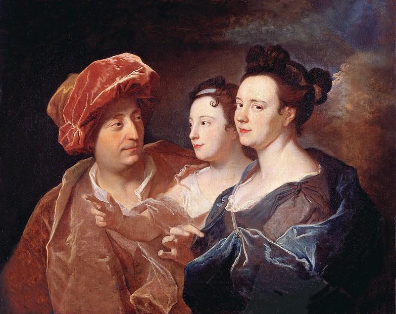 Hyacinthe Rigaud - La famille Laffite